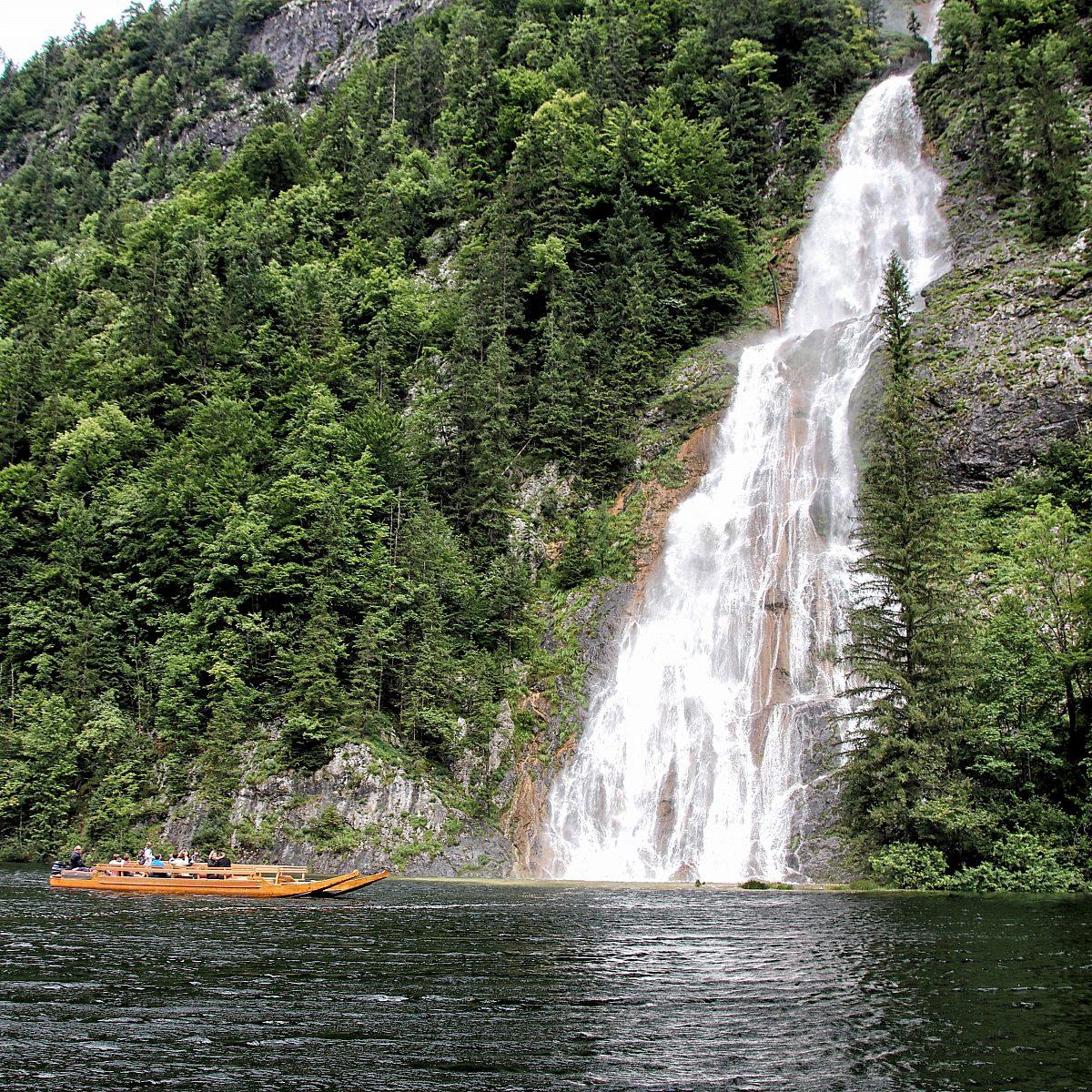 Wasserfall Toplitzsee